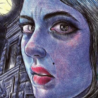 Case extraite de la bande dessinée Moi, ce que j'aime, c'est les monstres », par Emil Ferris