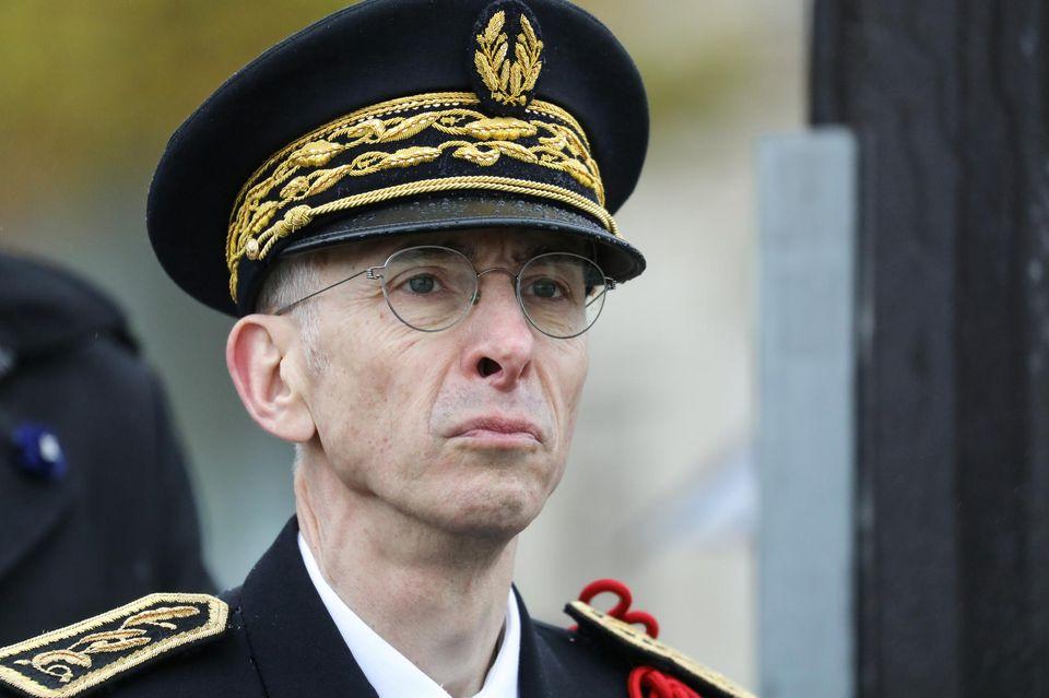Didier Lallement le 11 novembre 2019